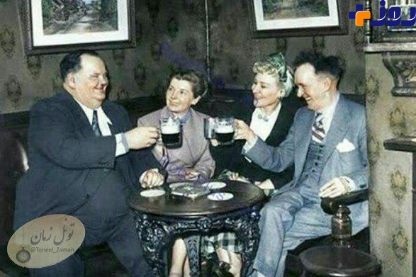 لورل و هاردی و همسرانشان