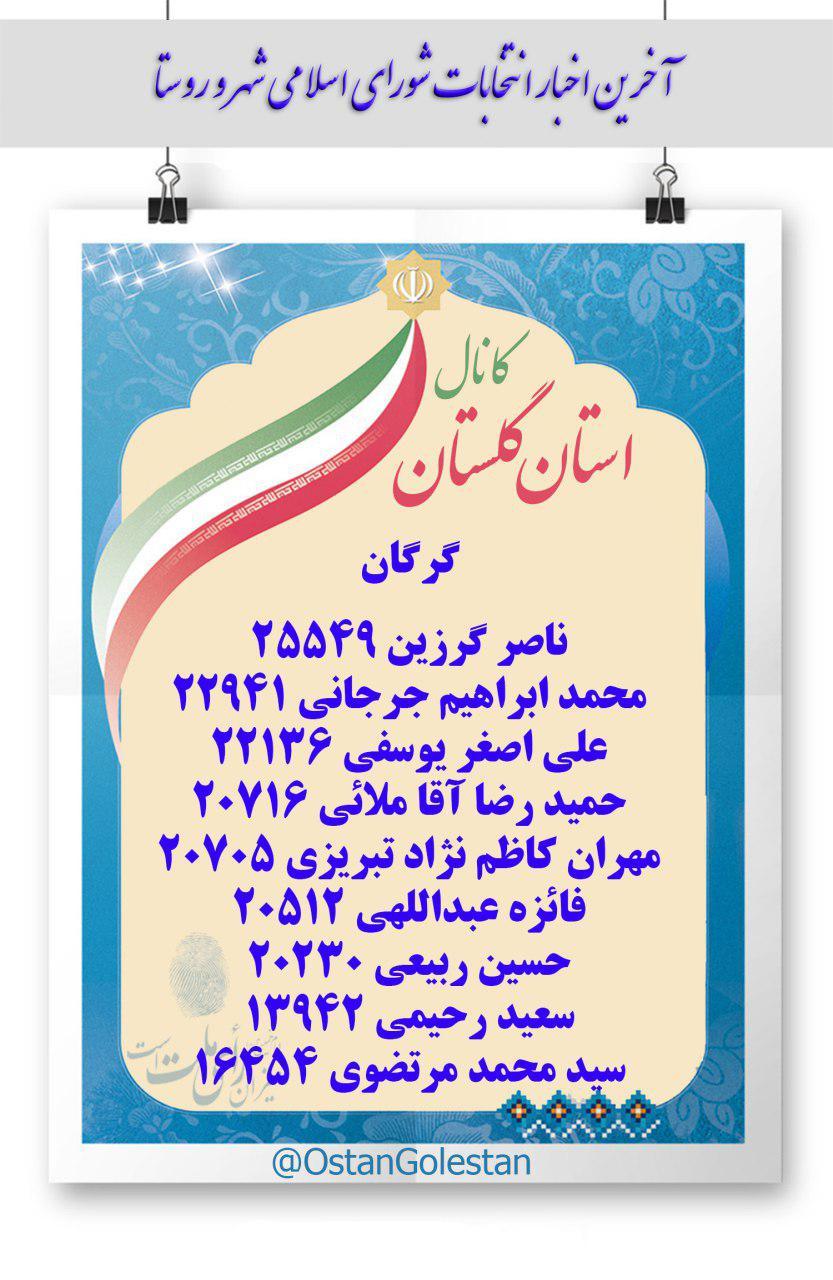 انتخابات96 گرگان