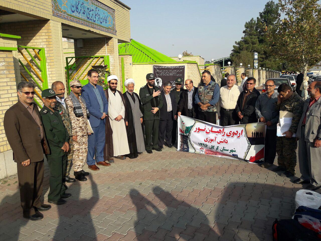 اعزام دختران دبیرستانی گرگان به مناطق عملیاتی غرب کشور7