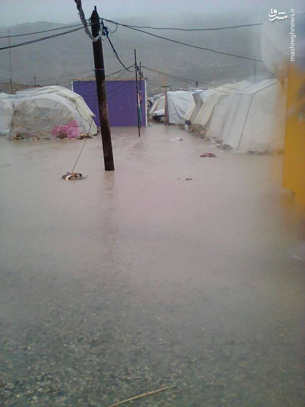 وضعیت اسفبار چادرهای زلزلهزدگان