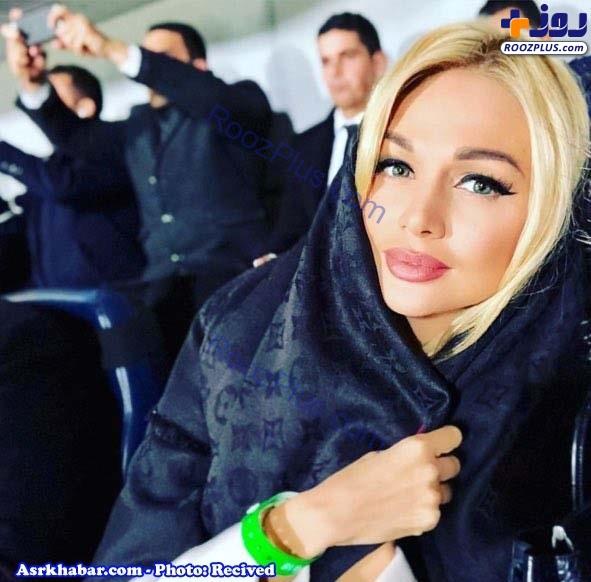 سفر مدل زیبای روس به ایران