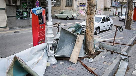 تصاویری وحشتناک از خسارات طوفان در ارومیه4
