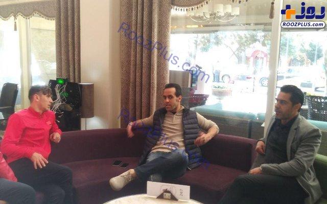 علی کریمی در اردوی پرسپولیس