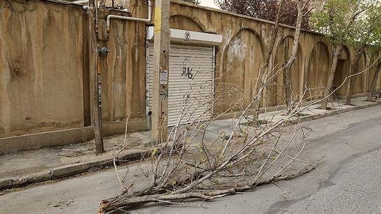 تصاویری وحشتناک از خسارات طوفان در ارومیه1