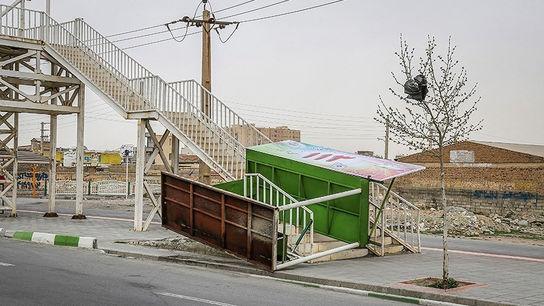 تصاویری وحشتناک از خسارات طوفان در ارومیه9