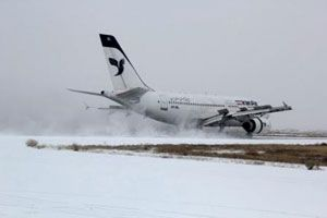 پرواز های فرودگاه گرگان و ساری لغو شد
