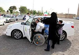 برگزاری مسابقه اتومبیلرانی رالی خانوادگی جانبازان استان گلستان در علی آباد