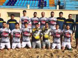 ملوان بندرگز در آستانه سقوط از لیگ برتر فوتبال ساحلی