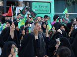 تشرف کاروان ۴۰۰۰نفری استان گلستان در ۲۳ ذی القعده به حرم مطهر رضوی + تصاویر