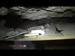 تونل زیرزمینی مجهز داعش در سنجار