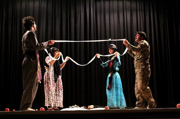 اختتامیه هفدهمین جشنواره تئاتر امیدهای جوان گلستان در گرگان