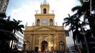 فیلم/ مدل کرونایی اعتراف به گناه در کلیسای آمریکا