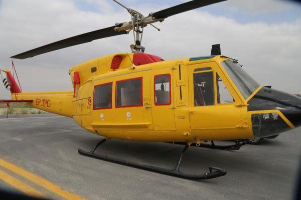 بالگرد اورژانس هوایی گلستان منتظر صدور مجوز