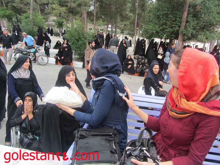دو توريست خانم در استان گلستان