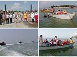 مانور جستجو و نجات دریایی در خلیج گرگان برگزار شد