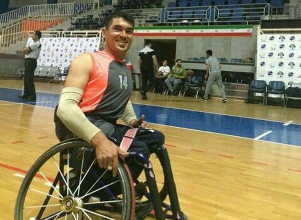 ورزشکار گلستانی به تیم ملی بسکتبال با ویلچر دعوت شد