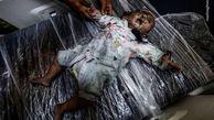 تصاویری دردناک از شهادت کودک 14 ماهه فلسطینی