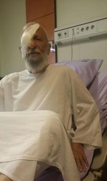 عکس/ آیت الله مصباح بعد از عمل جراحی