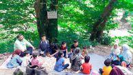 برگزاری اردوی تفریحی برای گروه های کتابخوانی در گنبد کاووس