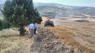 آتش بر؛ ناجی جنگلها از آتش سهل انگاری برخی کشاورزان