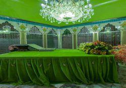 دومین مراسم آیینی صفه خوانی در امامزاده عبدالله گرگان