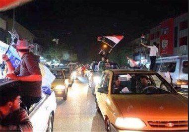 جشن فتح فلوجه + تصاویر