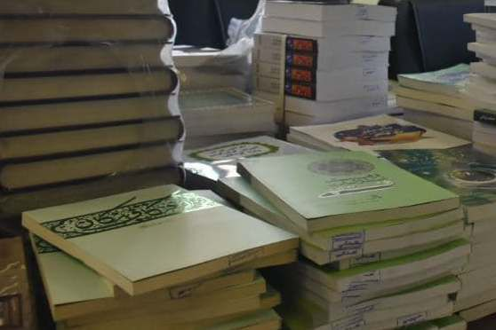 توزیع کتاب بین ۲۵ کانون روستایی استان گلستان