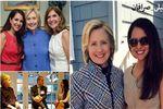 این زن ایرانی در کنار اوباما و هیلاری چه میکند+عکس