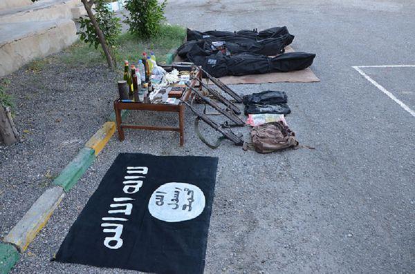 هلاکت۴شرور مسلح حامل پرچم داعش دراستان هرمزگان
