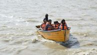 بازدید مسافرین و گردشگران از بندر ترکمن+تصاویر