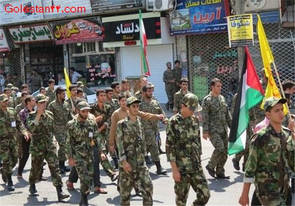 راهپیمایی به مناسبت پیروزی مردم مظلوم غزه