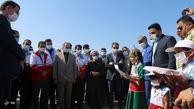 افتتاح ۴ پارک بازی در مناطق سیل زده گلستان + تصاویر