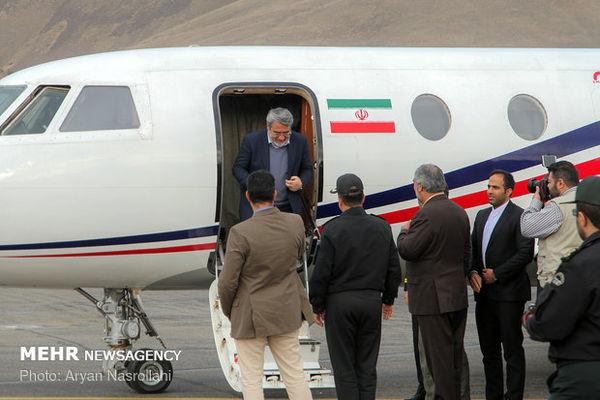 وزیر کشور وارد گلستان شد
