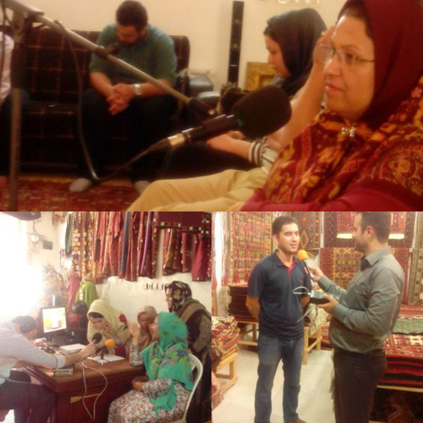 مستند رادیویی از فرش تاعرش دوشنبه ساعت ۱۷/۰۵ از رادیو گلستان