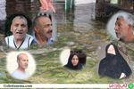 پس از گذشت 2سال اعتراض به آب گرفتگی منازل در الغدیر گرگان همچنان ادامه دارد + فیلم و تصاویر