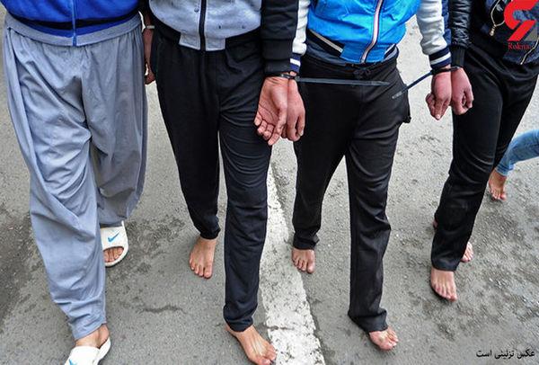 دستگیری عاملان نزاع دسته جمعی/7 نفر دستگیر شدند
