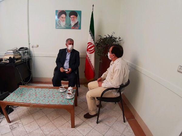 """ضبط برنامه تلویزیونی """"پیاز داغ"""" با حضور مدیر ستاد اقامه نماز استان گلستان"""