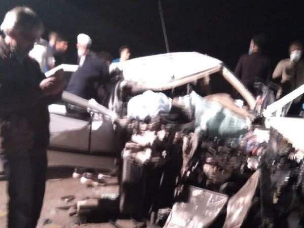 تصادف شدید چند خودرو در جاده خط نو ۵ مصدوم برجای گذاشت + تصاویر