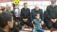 دیدار استاندار گلستان با خانواده 3 تن از جانباختگان معدن آزادشهر