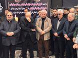 مراسم وداع با پیکر نوربخش و تاج الدین در گرگان +فیلم