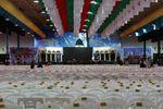 تصاویر/ لحظات پایانی آمادهسازی محل اجلاسیه 4000 شهید گلستان