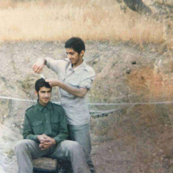 دکتر سیدعلی طاهری در دوران دفاع مقدس+عکس