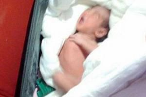 جاسازی نوزاد زنده درون چمدان + عکس