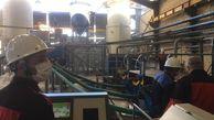 معاون اول رییس جمهوری یک واحد تولیدی را در بندرترکمن افتتاح کرد