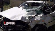 تصادف حادثه ساز مینی بوس با پراید 12 مصدوم برجای گذاشت + عکس