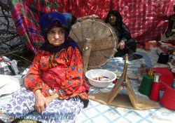 زندگی سنتی بانوان به سبک روستاهای دیار کتول+ تصاویر