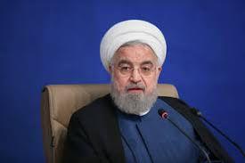 فیلم/ روحانی: تحریمهای آمریکا در نفسهای آخر است