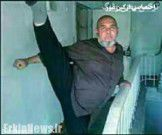 پیرمرد ترکمنی آمادگی خود را به رخ جوان ها کشید