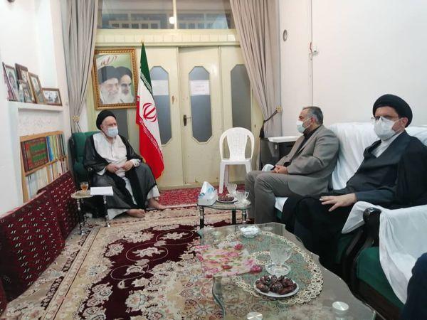 دیدار رییس کل دادگستری با علمای استان گلستان