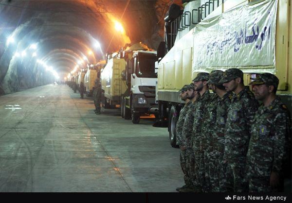 سپاه چهارمین قدرت موشکهای زیرزمینی جهان شد +عکس